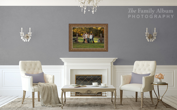 Fireplace Framed Singles